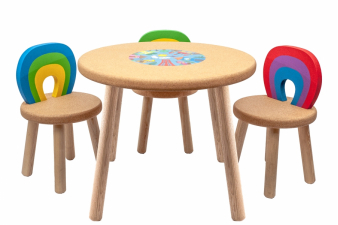 Image for CHILDREN SET table + chairs