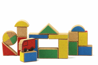 Image for CORK BUILDING BLOCKS model RETRO 1