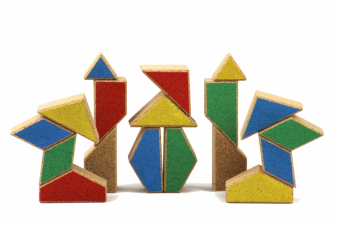 Image for CORK BUILDING BLOCKS model RETRO 2